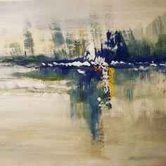 "0 likerklikk, 1 kommentarer – Elin Holm (@elinartholm) på Instagram: ""Reflections (ElinArt) #acrylicpainting #acrylics #art #painting #nonfigurative #akryl #kunst…"""