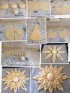 Bread Decorating - The Best Must Try Foods in Macedonia Decoration Patisserie, Dessert Decoration, Donut Recipes, Bread Recipes, Art Du Pain, Pie Crust Designs, Macedonian Food, Bread Art, Bread Shaping
