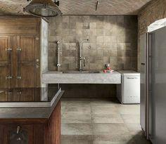 Tiles Online, Double Vanity, Kitchen Island, Modern, Home Decor, Inspiration, Houses, Kitchens, Island Kitchen