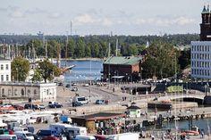 Näkymä Kauppatorille / View of the market square #Helsinki #Finland #market