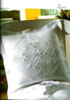 "Gallery.ru / Mur4a - Альбом ""28"" Bed Pillows, Hardanger, Needlepoint, Roses, Pillows"