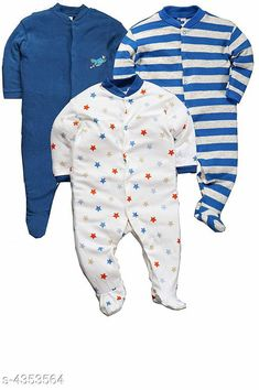 Oneseis & Rompers Fancy Cotton Kid's Rompers (Pack Of 3) Doodle Fancy 100% Cotton Kid's Rompers Combo Country of Origin: India Sizes Available: 0-3 Months, 3-6 Months, 6-9 Months, 6-12 Months, 9-12 Months, 12-18 Months   Catalog Rating: ★4.3 (4142)  Catalog Name: Doodle Fancy 100% Cotton Kid's Rompers Combo Vol 2 CatalogID_624895 C62-SC1159 Code: 665-4353564-6051