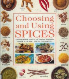 Choosing And Using Spices PDF