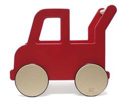 Learning to walk has never been more fun. We love this push cart by Manny + Simon. Now available in-store!