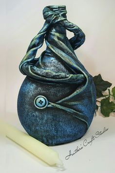 Powertex Textile Sculpture by Heather's Craft Studio