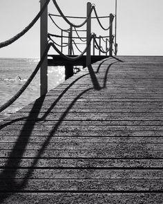 #dreamvillasinturkey #beaches #mahmutlar #pier #livingthedream #blackwhitephotography #blackwhitephoto