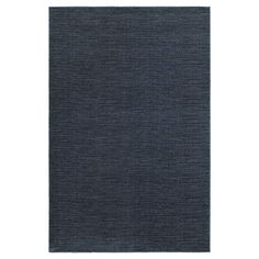 Legacy Solid Blue Accent Rug - Blue (4'X6')