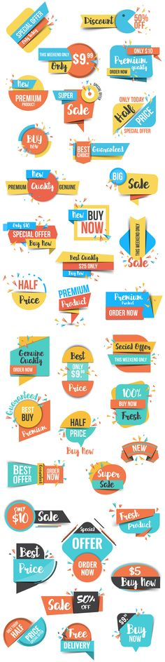 discount banner Collection of Sale Discount Banners by Creative Graphics on creativemarket Print Layout, Layout Design, Icon Design, Sale Banner, Web Banner, Banner Design, Tag Design, Creative Banners, Social Media Design