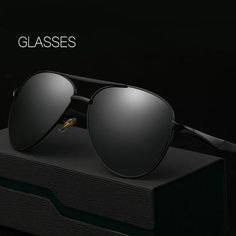 FuzWeb:feminino HOT Men Polarized Sunglasses Classic Big Frame Sunglasses Glasses Oculos UV400 WD8036