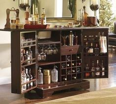 25 Mini Home Bar and Portable Bar Designs Offering Convenient ...
