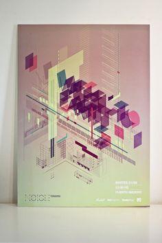 weandthecolor:  Graphic Poster Design by Emil Iosipescu More about the graphic poster designonWE AND THE COLOR Follow WATC on:FacebookTwitterGoogle+PinterestFlipboardInstagram