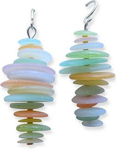 tinapple_seaglass_earrings3 by cynthia tinapple, via Flickr