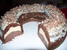 "really recommendable, very ""…ist wirklich zu empfehlen, sehr lecker"" ""… really recommendable, very tasty"" - Baking Recipes, Cake Recipes, Mayonaise Cake, German Bread, Sugar Cookie Icing, Chocolate Sweets, Cake & Co, Food Cakes, Sweet Cakes"