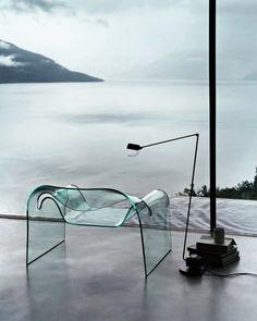 TOP TEN: 10 pieces which blossom in sunshine | Ghost, Cini Boeri, Fiam, 1987 | #designbest #trasparent #furniture #home |