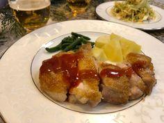 アメリカ人がやっていた「肉をメチャ旨に焼く方法」、   栄養士ママそっち~の簡単美味しいサイクル献立 Baked Potato, Sausage, Food And Drink, Chicken, Meat, Cooking, Ethnic Recipes, Happy, Recipe