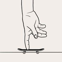 Flick, Push… Matt Blease, Illustration, Artist, Bmx, Instagram, Skateboard, Comic, Portraits, Blouse