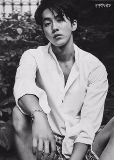 Nam Joo Hyuk captivates fans with his masculine charm in InStyle Korea's July 2016 Issue! ⋆ The latest kpop news and music Sung Joon, Lee Sung Kyung, Lee Hyun Woo, Korean Star, Korean Men, Asian Men, Asian Boys, Park Hae Jin, Park Seo Joon