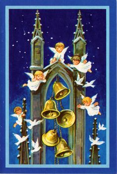Tiny Angels ringing in the Season......