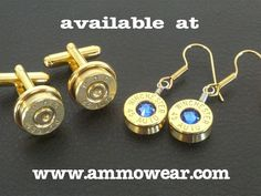 Byron Bartlett is raising funds for Ammo Wear: Hand Crafted Bullet Casing Jewelry on Kickstarter! Creating smiles with my fun and unique Ammo-Wear jewelry. Bullet Casing Crafts, Bullet Casing Jewelry, Bullet Crafts, Ammo Jewelry, Jewelry Crafts, Ammo Art, Shotgun Cartridges, Hunting Gifts, Amazon Gifts