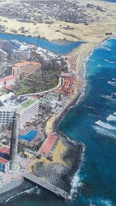Maspalomas,El Faro,La Cjarca,dunas.GRAN CANARIA.