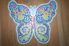 Vlinder mozaiek