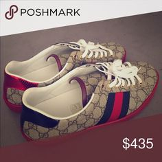 New Gucci sneakers. I bought thinking I would wear them more but I don't!  so they are up for grabs. Gucci Shoes Sneakers