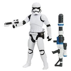 Star Wars The Force Awakens 3.75-Inch Figure Snow Mission First Order Stormtrooper from Star Wars Disc: Affiliate Link