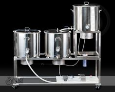synergy all grain home brewing systems stainless steel and aluminium tig welding fabrication design repair and brewery support - Home Brewery Design