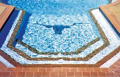 Pool Mosaic built by Blue Haven Pools