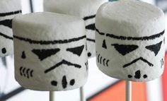 Marshmallows Star Wars #anniversaire #enfant