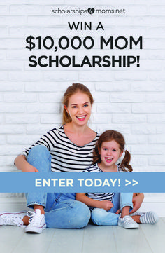 Scholarships4moms is an easy-to-apply scholarship drawing for mothers like you. No essay or GPA required to enter. Enter today!