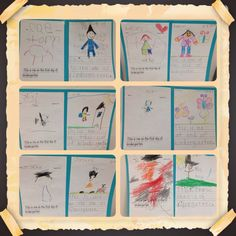End of Year Project- Show your students growth! On the first day of school have students illustrate and write their name. At the end of the year have your students do the same thing! Great keepsake for parents!
