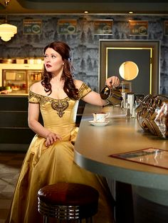 Belle from Once upon a time.