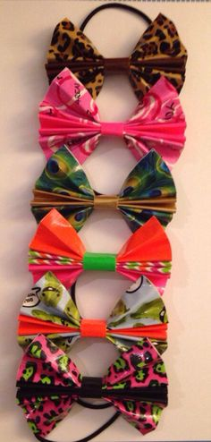 Duct Tape Bows by BoomitTape on Etsy
