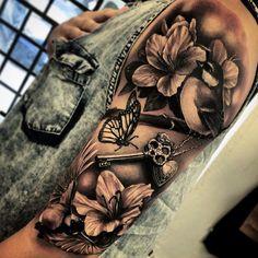 Beautiful – DIY Tattoo Project – # beautiful … - Famous Last Words Dope Tattoos, Girly Tattoos, Pretty Tattoos, Beautiful Tattoos, Body Art Tattoos, Beautiful Beautiful, Flower Tattoos, Tatoos, Ribbon Tattoos