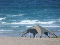The Igloo Tent, Porthtowan Beach, 8th Sept, 2013