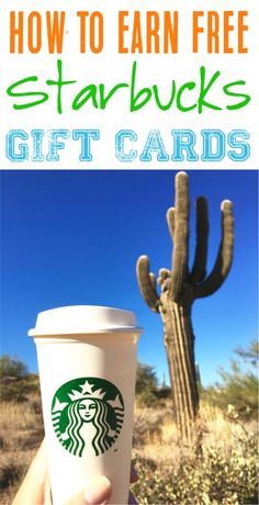 Starbucks Coffee - Who doesn't love free coffee??  Check out one of my favorite little known tricks to earn Free Starbucks Gift Cards!