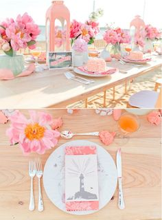 Beach Inspired Wedding With Southern Fried Paper