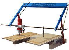 Дупликарвер-2 — копировально-фрезерный станок для резьбы по дереву