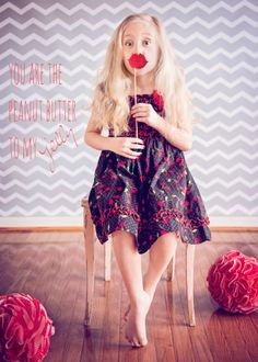Valentine's Day Mini Sessions, lip photo booth props, cupcake liner pom poms KelleyCraigPhotography.com