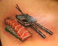 sushi tattoo - Google Search