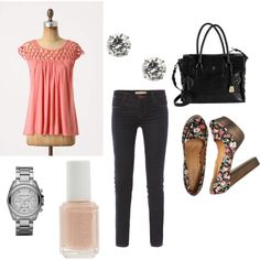Love it all! Especially the shoes!