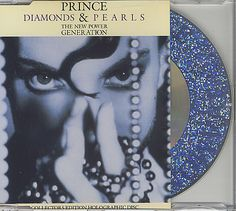 "For Sale -Prince Diamonds & Pearls UK  CD single (CD5 / 5"")- See this and 250,000 other rare and vintage records & CDs at http://eil.com/"