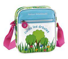 Accesorios infantiles, mochilas y bolsos para el colegio, Cuida los árboles de Paola Dominguín > Minimoda.es