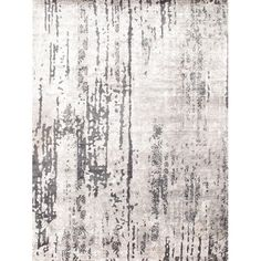 Found it at Wayfair - Hand-Knotted Gray Area Rug