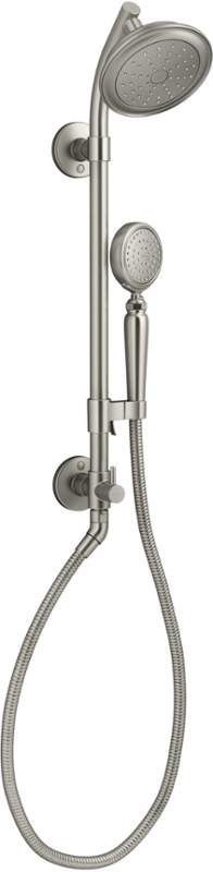 Kohler K 76472 Artifacts 2.0 GPM Single Function Shower Package With Shower  Head Vibrant Brushed