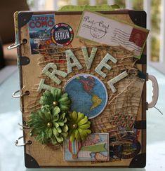 Travel Mini Album by Gabrielle Pollacco - Scrapbook.com