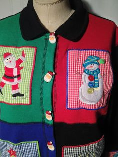 Ugly Christmas Sweater    FREE Shipping  Large by ZassysTreasures, $32.00