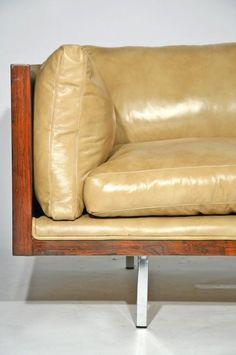 Mid Century Leather Sofa Attributed To Fabio Lenci Furniture Pinterest Apartments Tyxgb76aj This And
