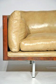 Rosewood Case Sofa | Milo Baughman | Mid Century